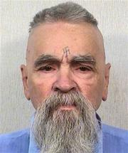 "This Oct. 8, 2014 photo provided by the California Department of Corrections shows 80-year-old serial killer Charles Manson. A marriage license has been issued for Manson to wed 26-year-old Afton Elaine Burton, who left her Midwestern home nine years ago and moved to Corcoran, California to be near him. Burton, who goes by the name ""Star,"" told the AP that she and Manson will be married next month. (AP Photos/California Department of Corrections)"